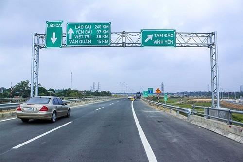 """Từ 1/5 sẽ """"phạt nguội"""" trên tuyến đường cao tốc Nội Bài – Phú Thọ"""