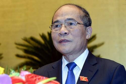 Quốc hội công bố kết quả miễn nhiệm Chủ tịch Quốc hội Nguyễn Sinh Hùng