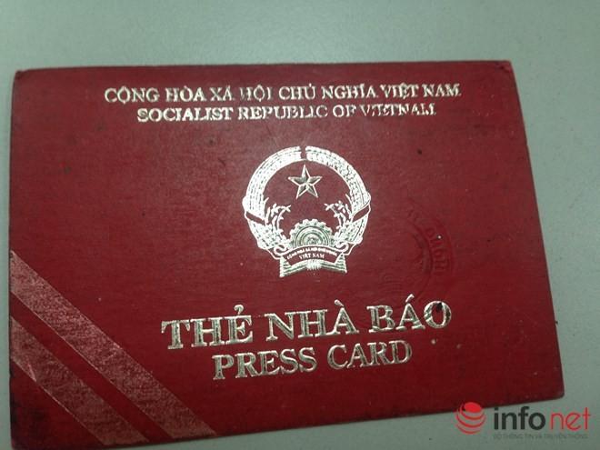 Thứ trưởng Trương Minh Tuấn: Không thu hồi thẻ nhà báo đã hết hạn