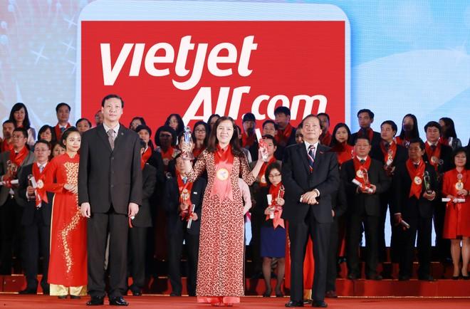 Vietjet được vinh danh là hãng hàng không được yêu thích nhất