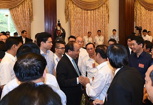 9 nhóm vấn đề doanh nghiệp kiến nghị với Thủ tướng Nguyễn Xuân Phúc