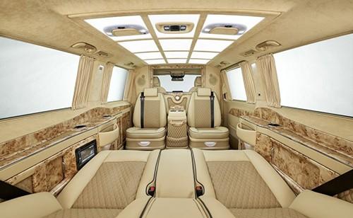 Chi tiết Mercedes V-class phiên bản thương gia