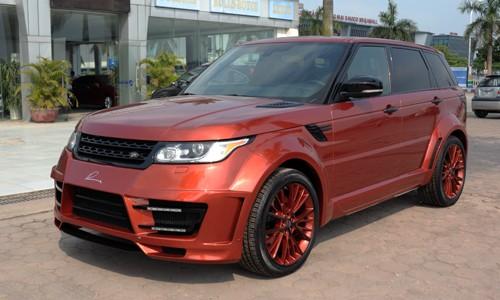 Bản độ Range Rover Sport Lumma Design giá hơn 7,4 tỷ đồng tại Hà Nội