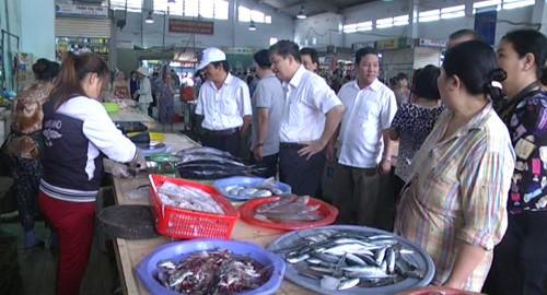 Công bố kết quả xét nghiệm hải sản ở miền Trung