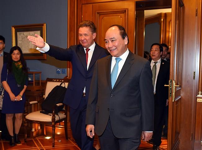 Thủ tướng mong muốn thúc đẩy hợp tác dầu khí với LB Nga