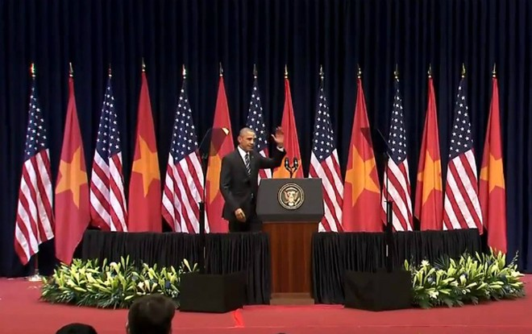 """Tổng thống Obama: """"Sông núi nước Nam vua Nam ở"""""""