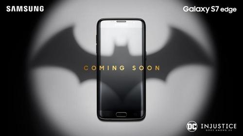 Galaxy S7 edge phiên bản Batman sắp xuất hiện