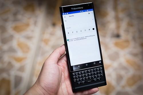 BlackBerry cập nhật bàn phím tiếng Việt cho Priv