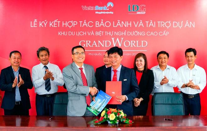 LDG tiếp tục bứt phá sau khi Vietinbank bảo lãnh Dự án Grand World