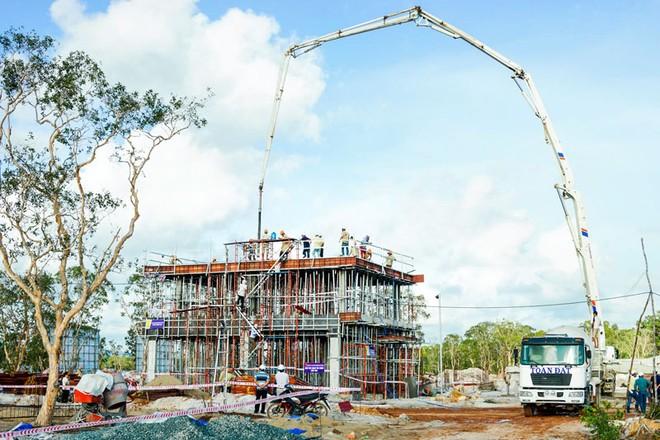 Grand World Phú quốc của LDG chính thức cất nóc những căn biệt thự đầu tiên