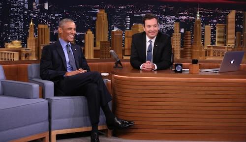 Obama chê smartphone của Nhà Trắng như điện thoại đồ chơi