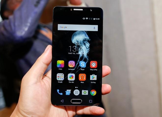 Smartphone giá 3 triệu đồng có bảo mật vân tay