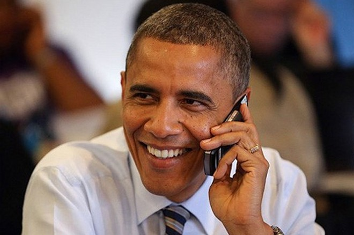 Tổng thống Obama chuyển từ BlackBerry sang Galaxy S4