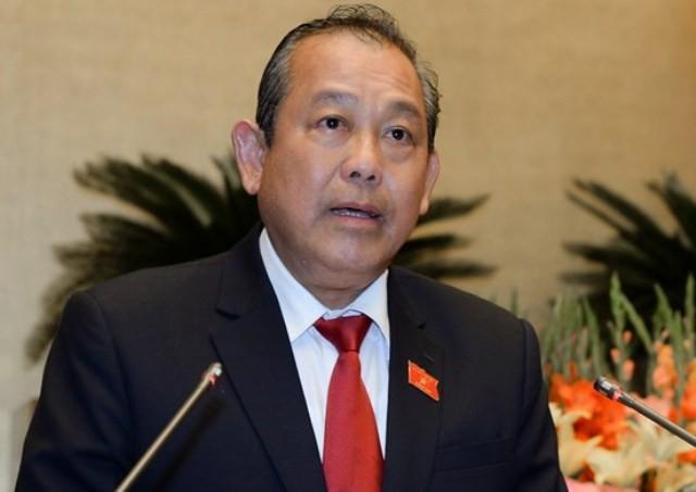 Phó Thủ tướng Trương Hòa Bình làm Trưởng Ban Chỉ đạo cải cách hành chính