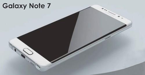 Galaxy Note 7 sẽ có bộ nhớ trong lên tới 256 GB