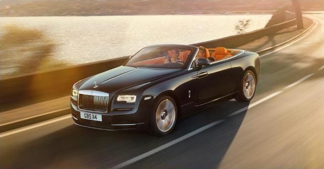 """Bất thường chuyện một doanh nghiệp được """"tặng"""" Rolls-Royce Dawn 2016"""