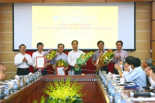 PetroVietnam bổ nhiệm 4 Phó tổng giám đốc