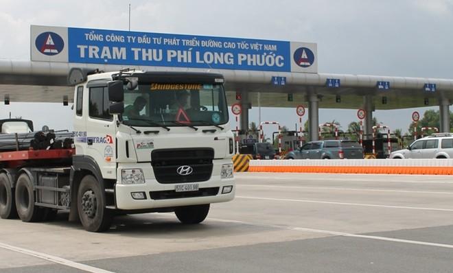 Giảm 10% phí cao tốc TPHCM - Long Thành - Dầu Giây