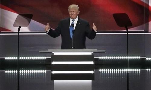 Donald Trump chính thức là ứng viên đại diện đảng Cộng hòa