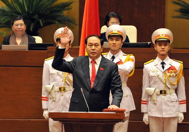 Hôm nay Chủ tịch nước tuyên thệ nhậm chức