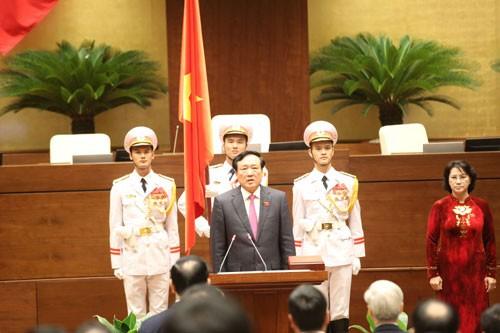 Ông Nguyễn Hòa Bình tái đắc cử chức vụ Chánh án Tòa án nhân dân Tối cao