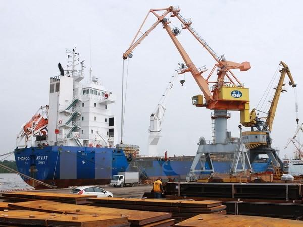 Hàng hóa thông qua các cảng biển tăng hơn 13% so với cùng kỳ