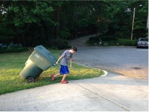 Dịch vụ gom rác của doanh nhân 11 tuổi