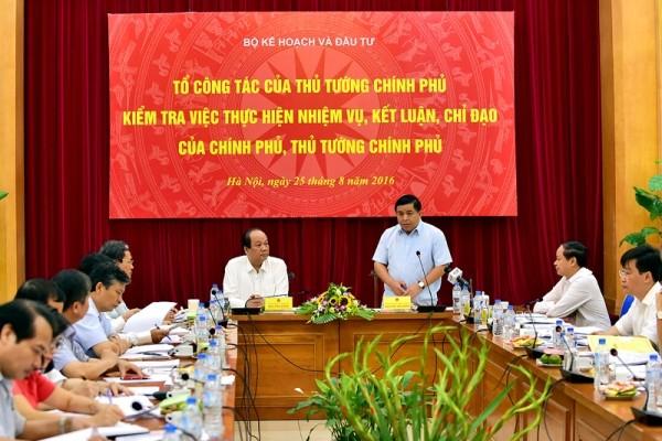Bộ trưởng Nguyễn Chí Dũng: Không chấp nhận đùn đẩy công việc