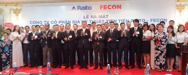 RAITO (Nhật Bản) bắt tay FECON thành lập công ty địa kỹ thuật tiên tiến tại Việt Nam
