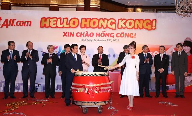 Vietjet chính thức mở đường bay TP. HCM - Hồng Kông