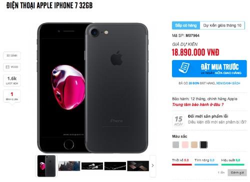 Rộ tin iPhone 7 chính hãng về Việt Nam tháng 10