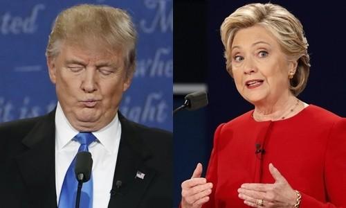 Clinton giành nhiều lợi thế sau buổi tranh luận với Trump