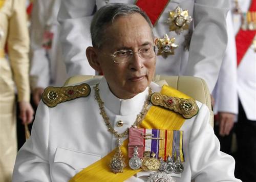 Nhà vua Thái Lan băng hà