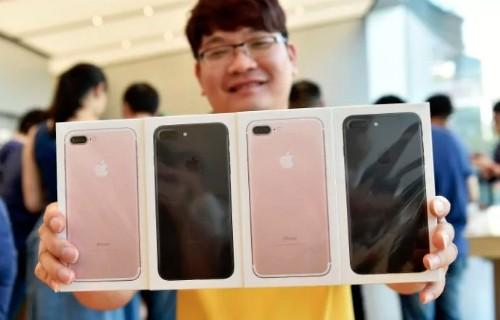 iPhone 7 hàng chính hãng trễ hẹn