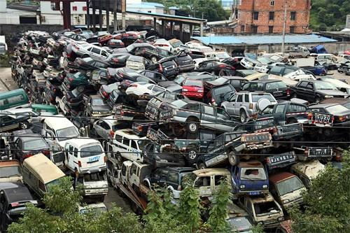 Những nghĩa địa ôtô khổng lồ ở Trung Quốc