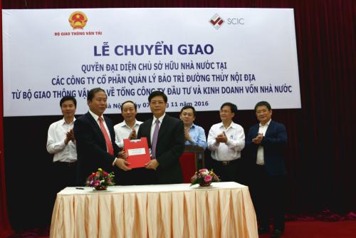 Bộ Giao thông - Vận tải chuyển giao 8 công ty quản lý bảo trì đường thủy nội địa về SCIC
