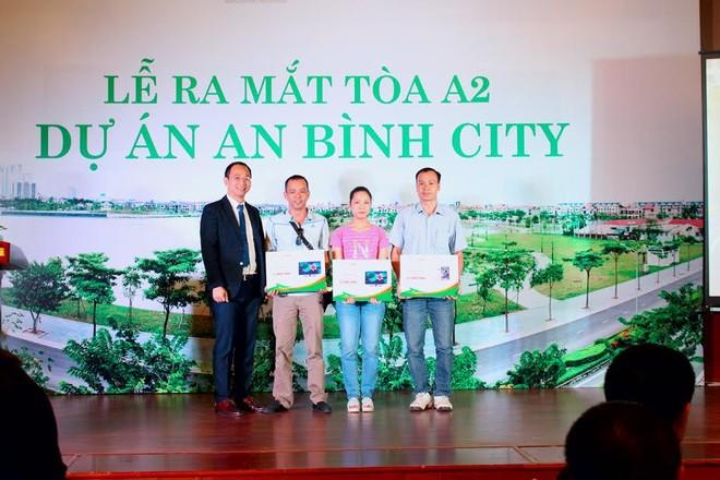 Hơn 100 căn hộ tòa A2 An Bình City đã được đặt mua thành công