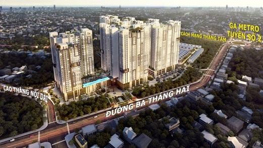 960 triệu có cơ hội sở hữu căn hộ cao cấp trung tâm TP. HCM