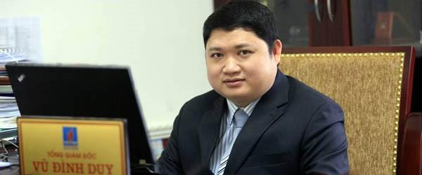 Bộ Công Thương đình chỉ công tác ông Vũ Đình Duy