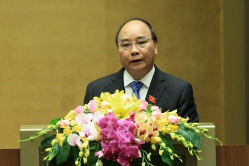 Sáng nay, Thủ tướng Nguyễn Xuân Phúc trả lời chất vấn