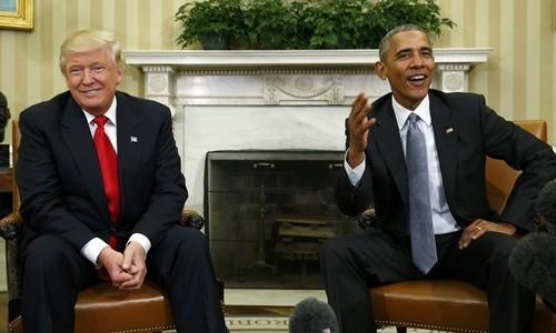 Trump: 'Tôi rất thích Tổng thống Obama'