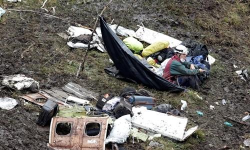 Phi công nói máy bay hết nhiên liệu trước khi rơi ở Colombia