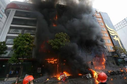 Nhiều cán bộ bị cách chức sau vụ cháy quán karaoke ở Cầu Giấy