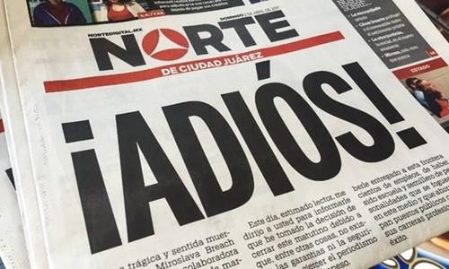 Tờ báo ở Mexico đóng cửa vì phóng viên bị bắn chết