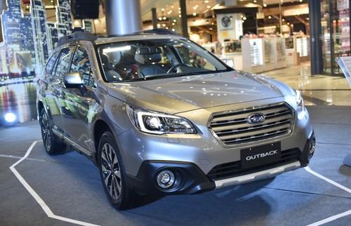 Subaru Outback - SUV gia đình giá từ 1,7 tỷ tại Việt Nam