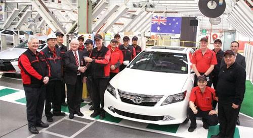 Toyota Camry dừng sản xuất ở Australia