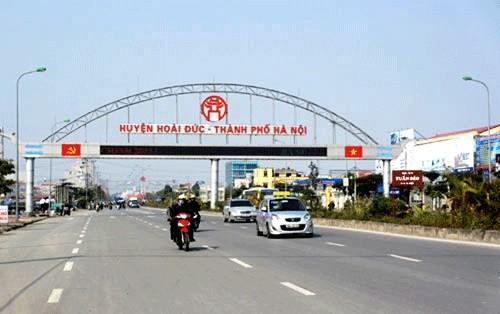 Phó Thủ tướng chỉ đạo xử lý vi phạm đất đai tại huyện Hoài Đức, Hà Nội