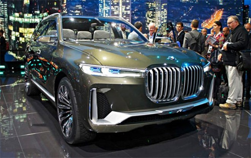 BMW X7 concept - tương lai của SUV hạng sang kiểu mới