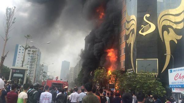 Đề nghị truy tố 3 bị can vụ cháy quán karaoke khiến 13 người chết