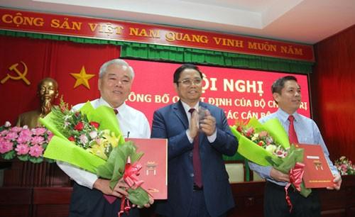 Công bố quyết định của Bộ Chính trị về nhân sự Tỉnh ủy Sóc Trăng